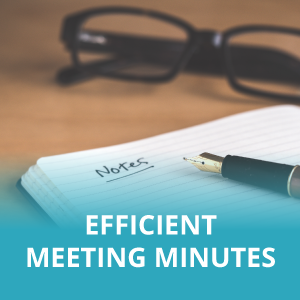 Efficient Meeting Minutes Template